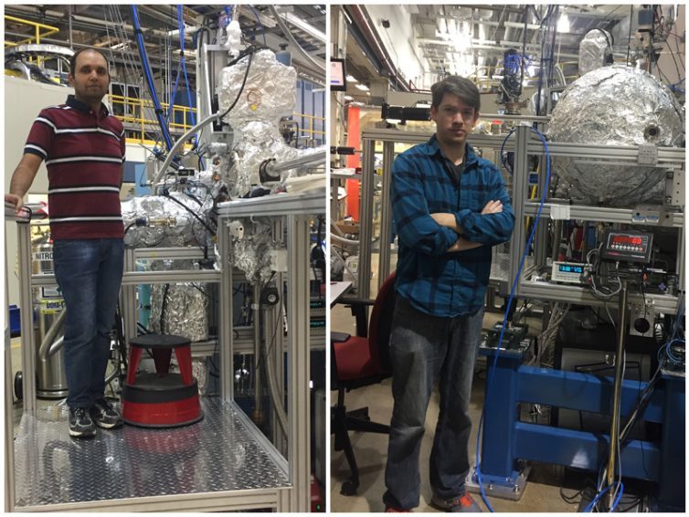 SIU Students at Argonne National Laboratory