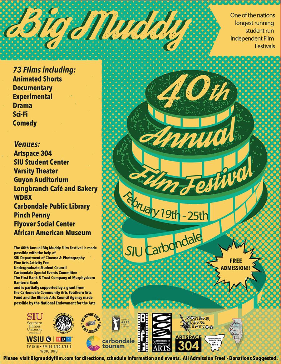 Big Muddy Film Festival Poster