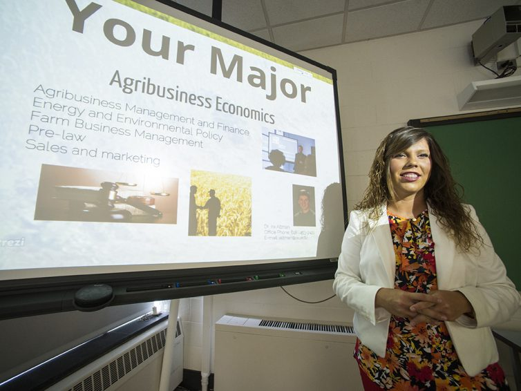 New program allows agriculture students to complete an MS degree in just one year