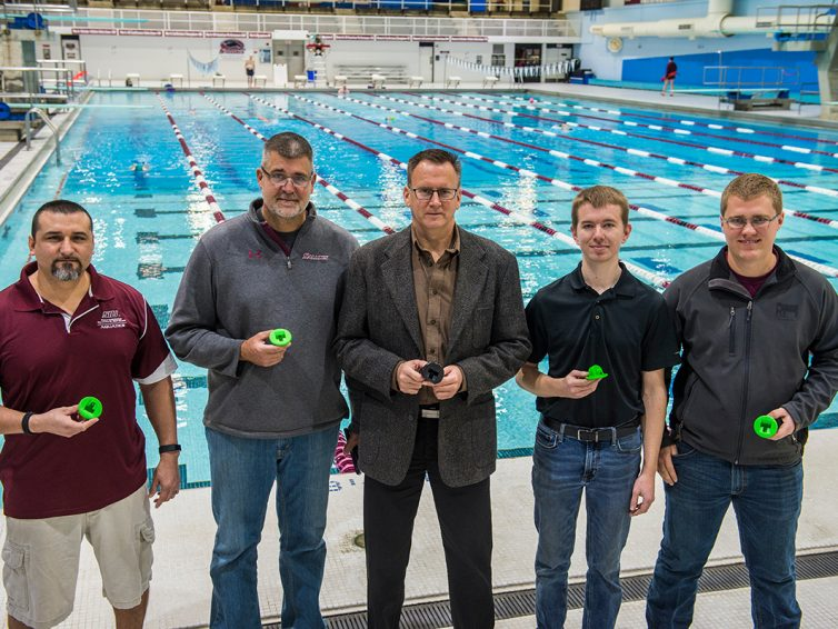 Ingenuity, expertise and 3D printing keep SIU pool running