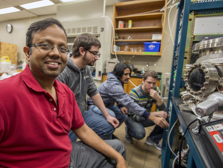Physics researcher's CAREER grant opens road to quantum computing work