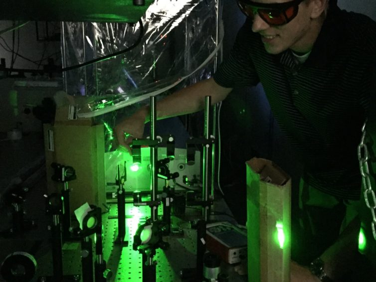Answers to energy, technology needs may lie at the nanoscale for SIU undergrad