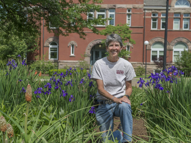 Leading the Pack: Joyce Lee enjoys nothing more than nurturing the beautiful SIU campus