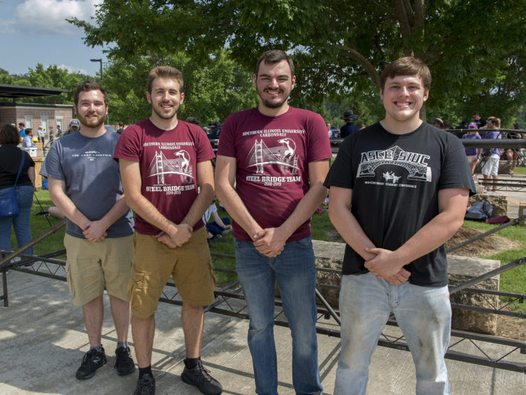 SIU engineering hosts Student Steel Bridge nationals