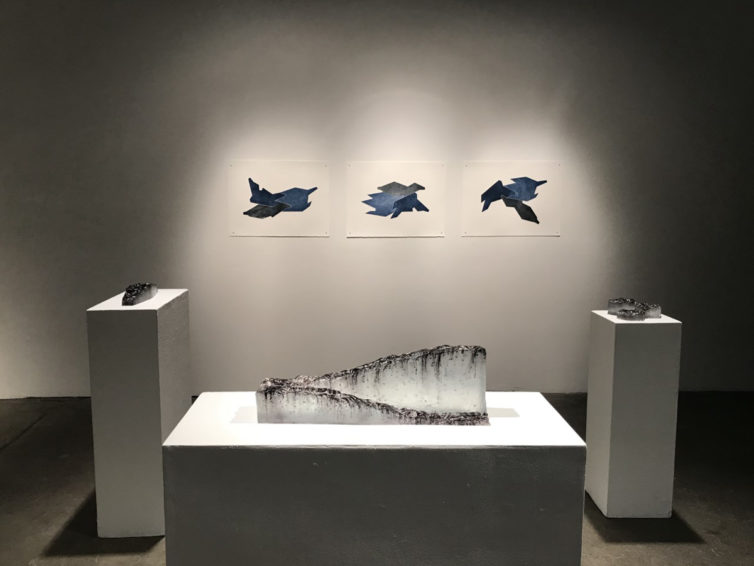 Torn between two interests, one student finds a way to combine art and geology