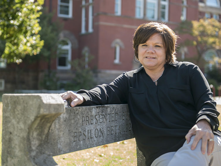 Leading the pack: For Houghland, investing in students is a priority