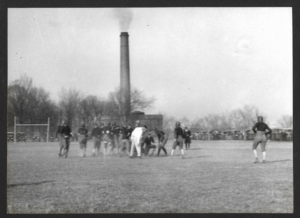 Early photo of SIU football team.