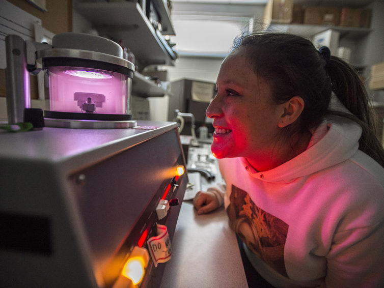 High-end, high-tech scientific instruments anchor the past, present and future of SIU research