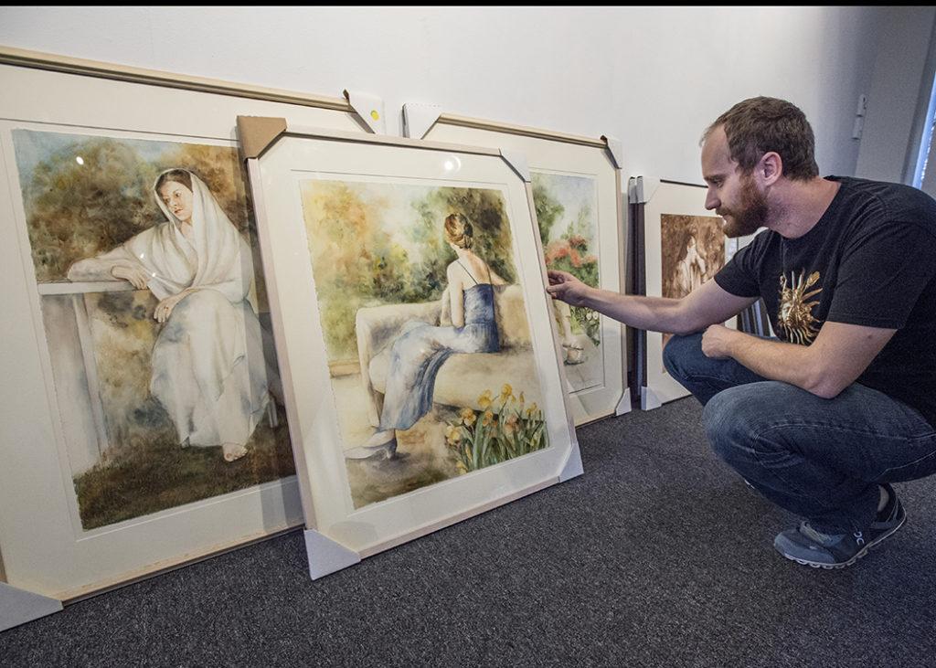 SIU Museum paintings
