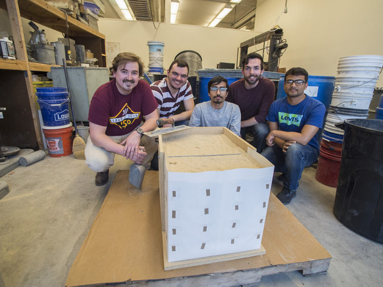 SIU's Geo-Wall team prepares for national competition