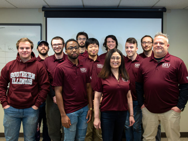 SIU 'Security Dawgs' taking aim at state cybersecurity title