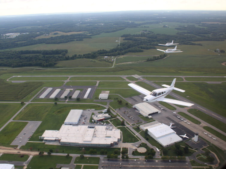 SIU Aviation celebrates six decades while flying to new heights