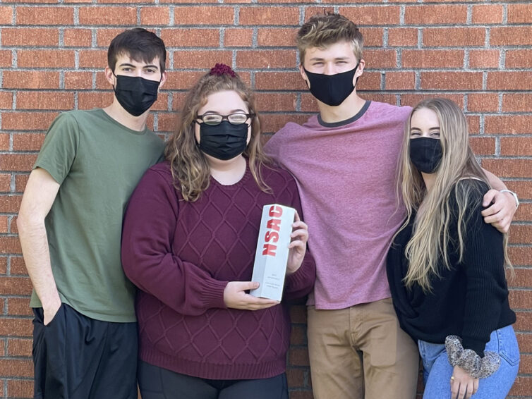 Saluki AdLab earns district student advertising title