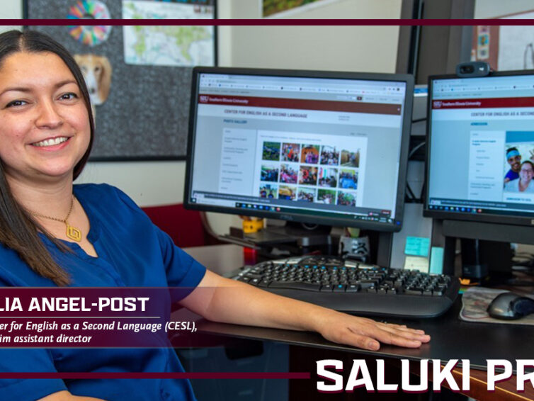 Saluki Pride: Lilia Angel-Post finds creative ways to assist students learning to speak English