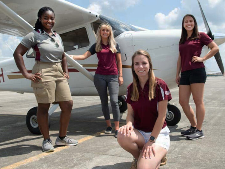 Building their own legacy: SIU female aviators set to compete in air derby