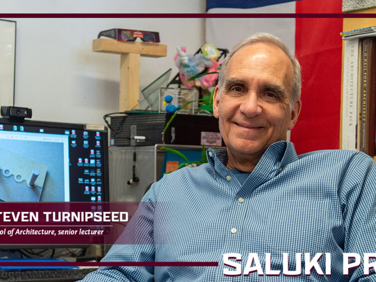Saluki Pride: Steven Turnipseed's enthusiasm and devotion fuels architecture students