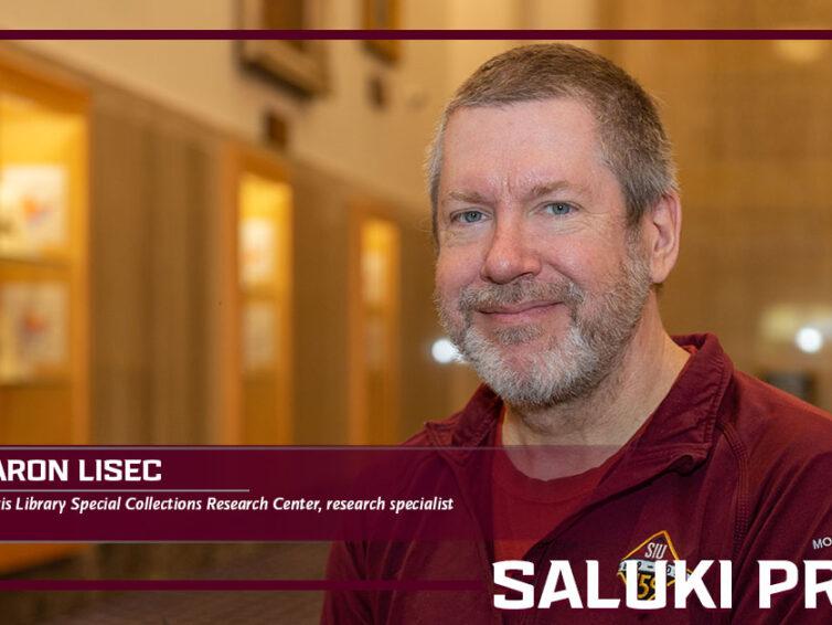 Saluki Pride: Aaron Lisec helping researchers gain historical insight