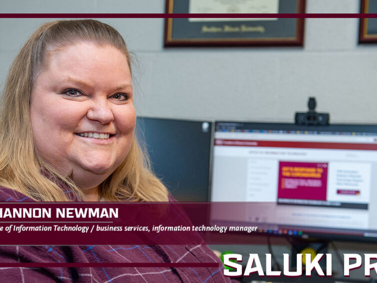 "Saluki Pride: Shannon Newman is ""The Dell Lady"""