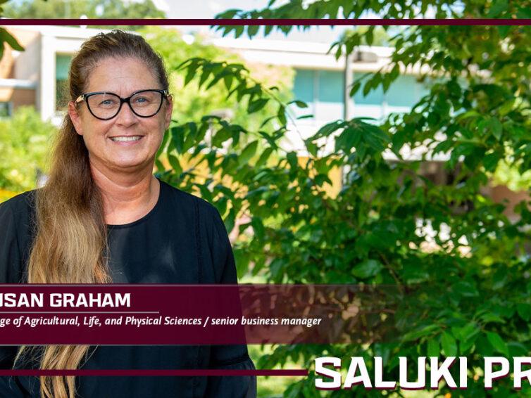 "Saluki Pride: SIU ""ambassador"" Susan Graham earns national ag educators' recognition"