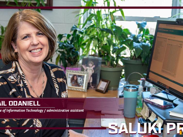 Saluki Pride: For Gail Odaniell, organization is key