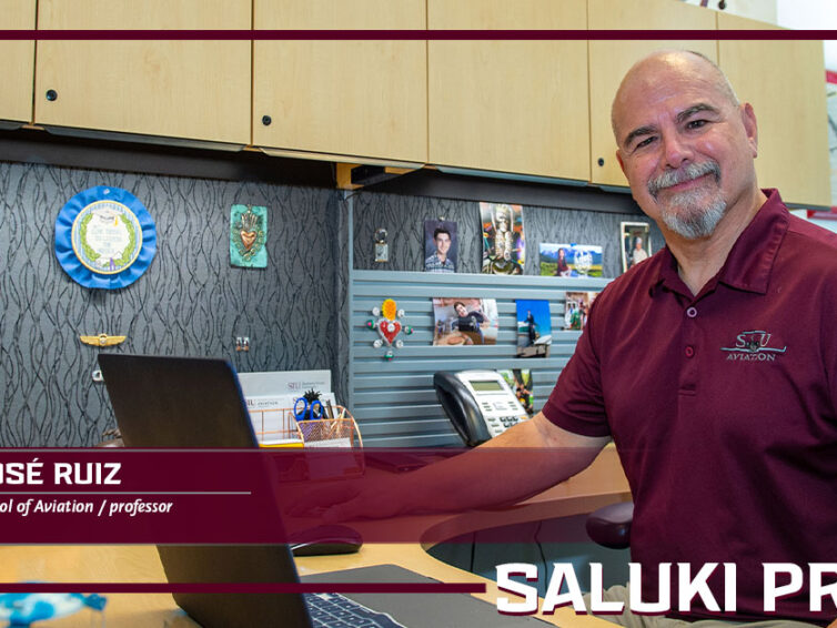 Saluki Pride: José Ruiz' passion is being a mentor to both students and faculty